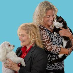 Donna Hostnick & Franki Pethtel and Vivica & Tux Photo