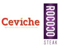 Ceviche & Rococo Steak