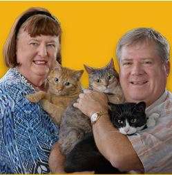 John Ralph and Lucky, PJ and Princess Photo