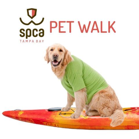 pet walk kayak