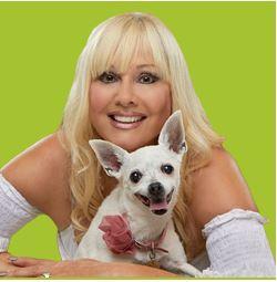 Rhonda Shear and Chicky Photo